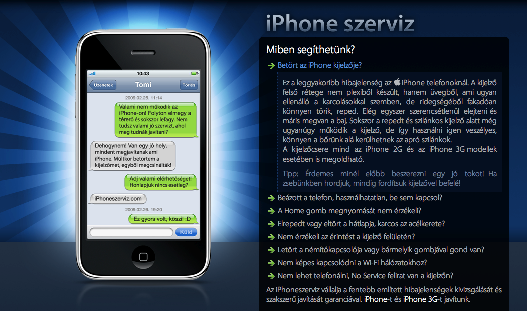 iPhoneszerviz.com